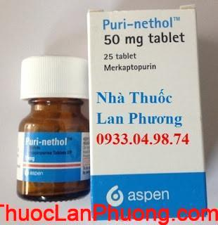 Thuốc Purinethol 50mg Mercaptopurine